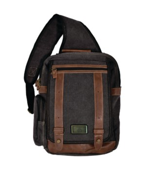 BLACK CANVAS SLING 13.8 in.