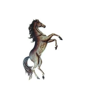 REARING HORSE WALL ART 11.5 x 16 in.