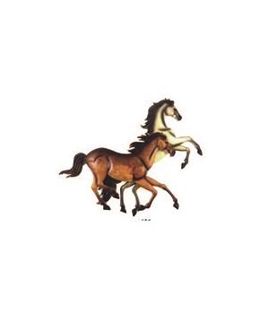2 Horses Running 17.3 in.