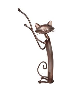 METAL CAT TABLE ART 13.7 in. H