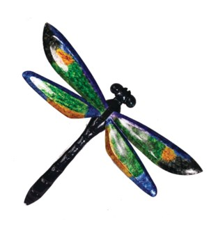 METAL DRAGONFLY WALL ART Set of 2 - 19 in. L