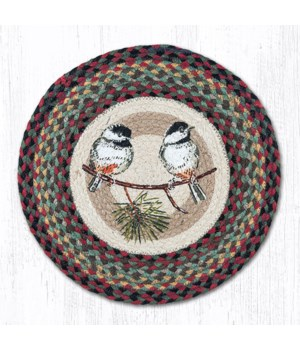 CH-81 Chickadee Round Chair Pad 15.5 x 15.5 in.x0.17 in.