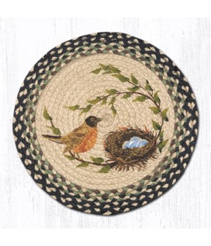 CH-121 Robins Nest Round Chair Pad 15.5 x 15.5 in.x0.17 in.