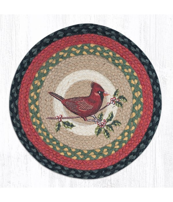 CH-238 Cardinal Round Chair Pad 15.5 x 15.5 in.x0.17 in.