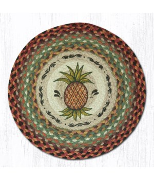 CH-375 Pineapple Round Chair Pad 15.5 x 15.5 in.x0.17 in.