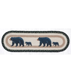 ST-OP-116 Mama & Baby Bear Oval Stair Tread 27 in.x8.25 in.x0.17 in.