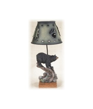Bear Candle Lamp 13 in. H