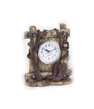 Western Clock 6 in. H
