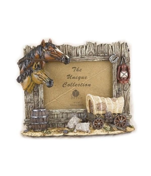 Horse Frame 6 x 4 x 9 in. W