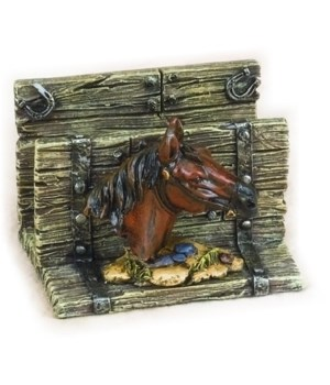 Horse Card Holder 3.5 in.