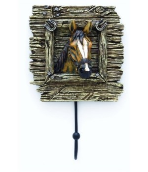 Horse Wall Hook 5.5 in. L