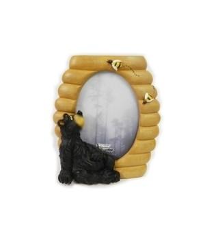 Honey Bear Frame 4 x 6 x 7.5 in. H