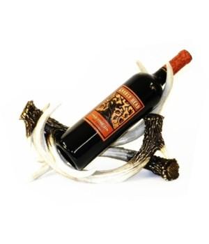 Antler Wine Bottle Holder 12 in. L