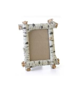 Birch Photo Frame 5 x 7 x 10 in. H
