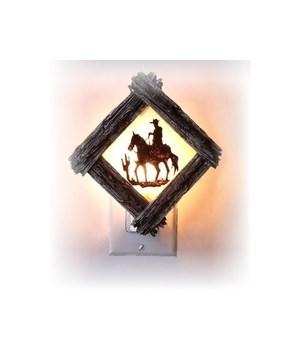 Cowboy Night Light