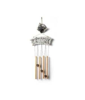 Bear Wind Chime 22 in. H