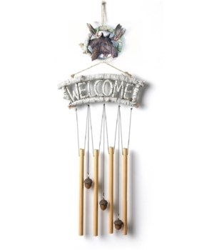 Moose Wind Chime 22 in. H