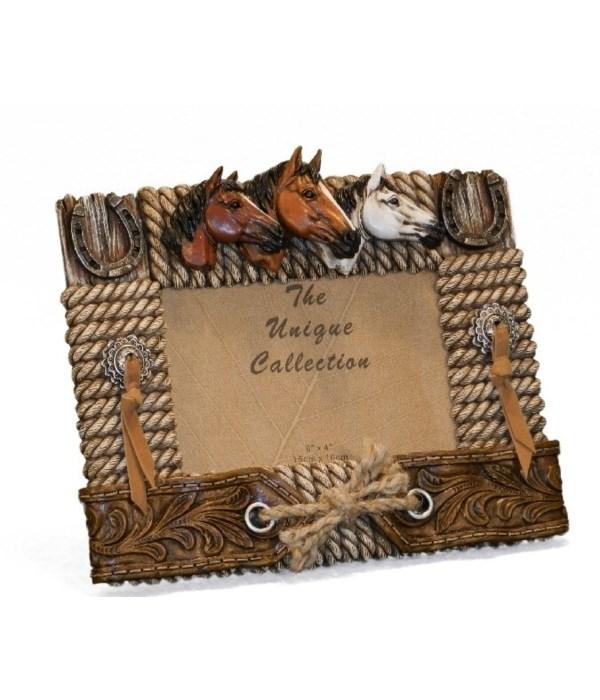Horse Frame 6 x 4 x 8.5 in. W