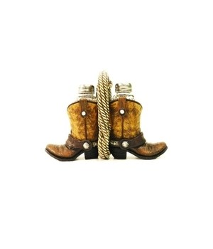 Boot Salt & Pepper Set 8 in. W