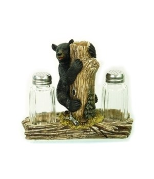 Bear Salt & Pepper Set. 6 in. W