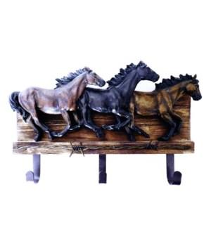 THREE HORSE HOOK 14.1 in.