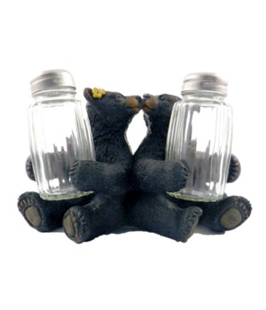 Kissing Bears Salt & Pepper Holder 5.9 in.
