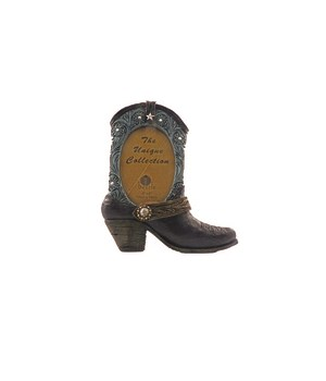 Blue Boot Photo Frame 4 x 6 x 9.4 in.