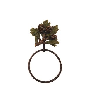 PINCONE TOWEL RING 12.4 in.