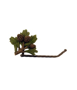 PINECONE TOILET PAPER HOLDER 10.4 in.