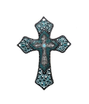 TURQUOISE CROSS 12.5 in.