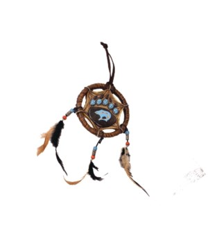 BEAR PAW HANGING DECORATION 5 in.