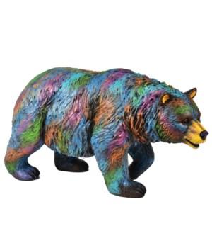 MULTI COLOR BEAR 10 in.