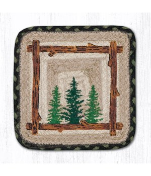 PP-116 Tall Timbers Square Printed Trivet 10 x 10 x 0.17 in.
