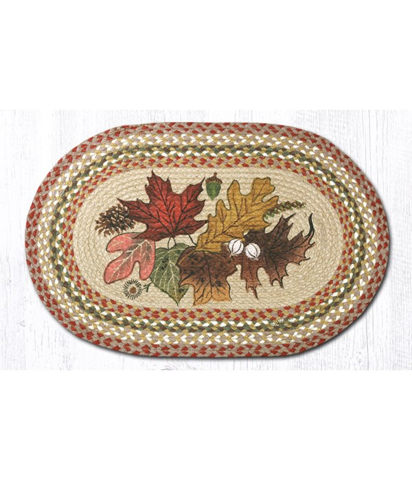 OP-24 Autumn Leaves Oval Patch 20 x 30 x 0.17 in.