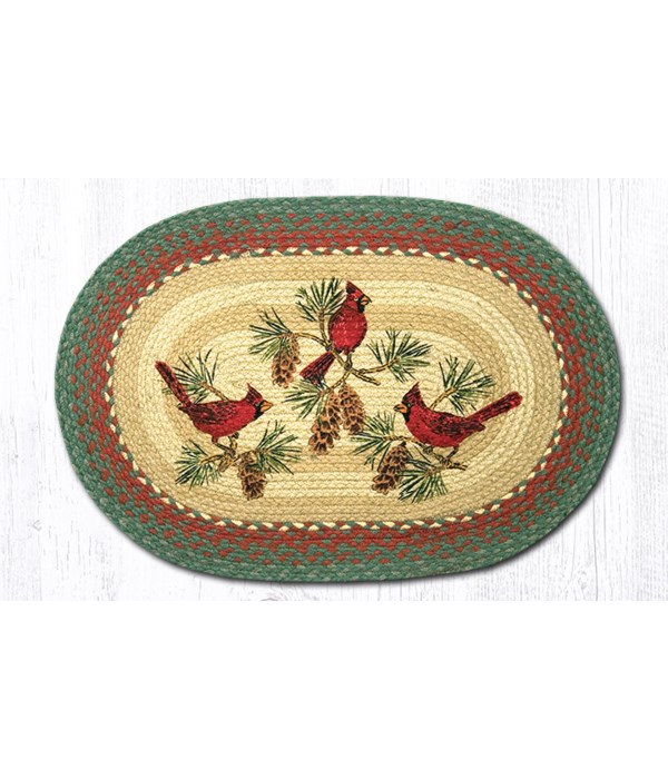 OP-25 Cardinals Oval Patch 20 x 30 x 0.17 in.