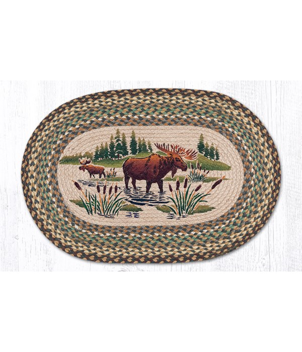 OP-51 Moose Wading Oval Patch 20 x 30 x 0.17 in.