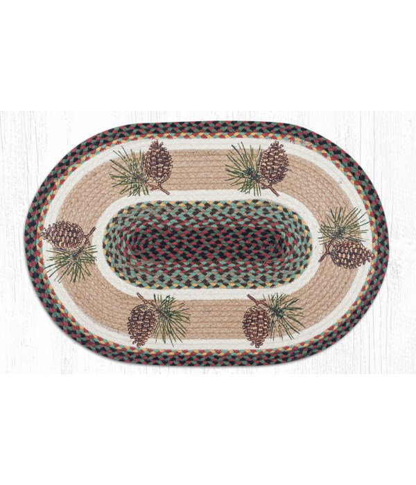 OP-81 Pinecone Oval Patch 20 x 30 x 0.17 in.