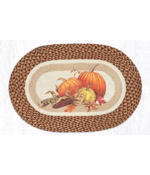 OP-222 Joyful Harvest Oval Patch 20 x 30 x 0.17 in.