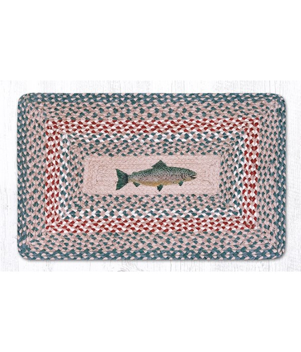 PP-09 Fish Oblong Patch 20 x 30 x 0.17 in.