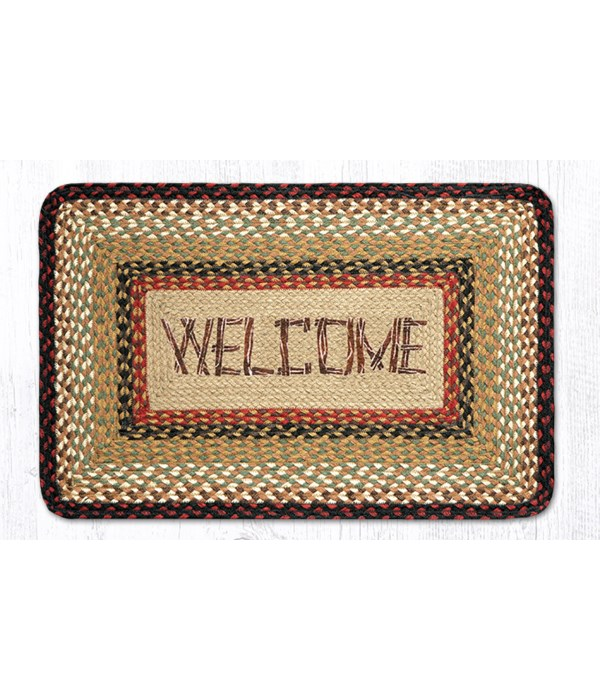PP-19 Welcome Oblong Patch 20 x 30 x 0.17 in.