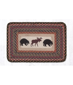 PP-43 Bear/Moose Oblong Patch 20 x 30 x 0.17 in.