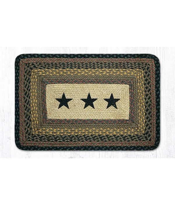 PP-99 Black Stars Oblong Patch 20 x 30 x 0.17 in.