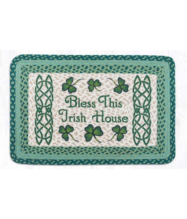PP-116 Bless This Irish House Oblong Patch 20 x 30 x 0.17 in.