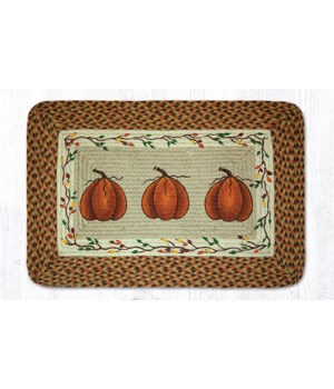 PP-222 Harvest Pumpkin Oblong Patch 20 x 30 x 0.17 in.
