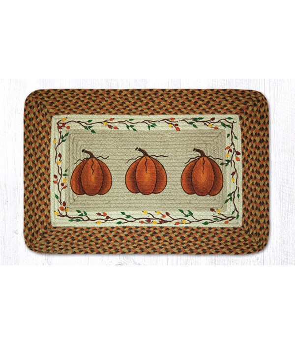 PP-222 Harvest Pumpkin Oblong Patch 20 x 30 x 0.17 in.