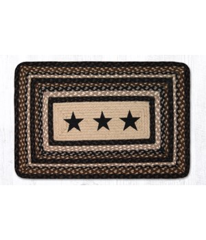PP-313 Black Stars Oblong Patch 20 x 30 x 0.17 in.
