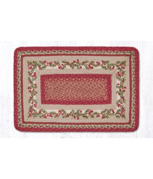 PP-390 Cranberries Oblong Patch 20 x 30 x 0.17 in.