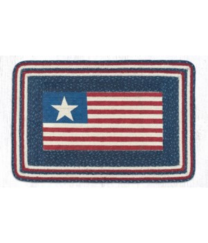 PP-565 American Flag Oblong Patch 20 x 30 x 0.17 in.
