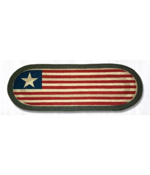 1032 Original Flag Oval Patch Runner 13 in.x36 in.x0.17 in.