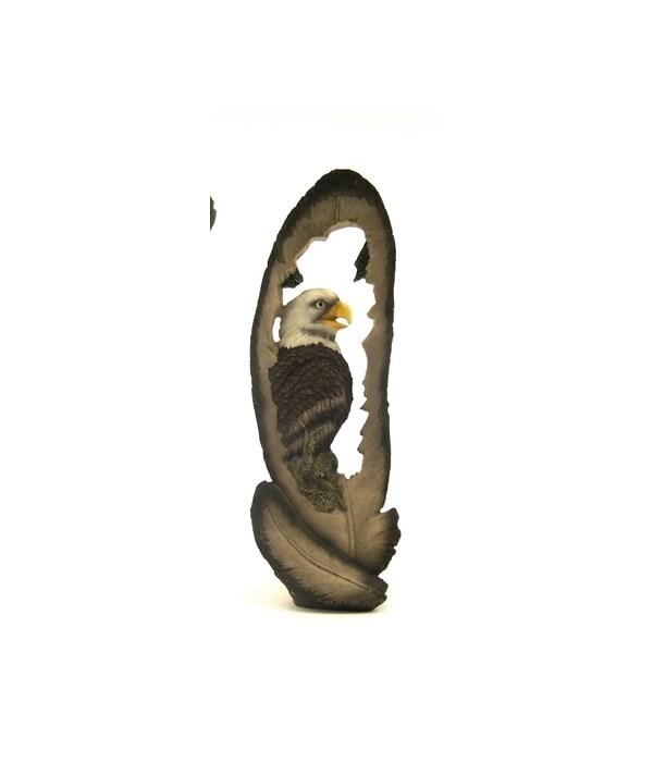 LARGE EAGLE FEATHER 12in. H